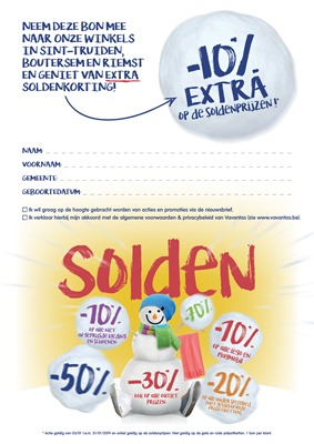 Vavantas folder van 03/01/2019 tot 31/01/2019 - Solden