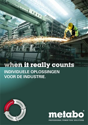 Metabo folder van 01/01/2019 tot 31/12/2019 - Individuele oplossingen industrie