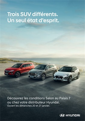 Folder Hyundai du 01/01/2019 au 31/01/2019 - Salon voiture
