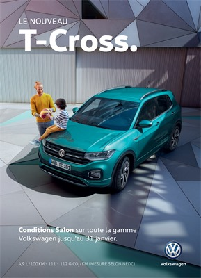 Folder Volkswagen du 08/01/2019 au 08/01/2019 - Salon voiture