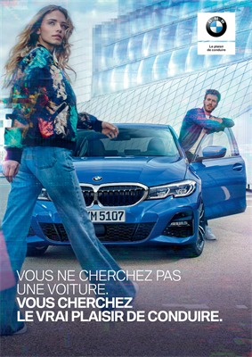 Folder BMW du 01/01/2019 au 31/01/2019 - Voiture salon