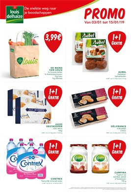 Louis Delhaize folder van 03/01/2019 tot 15/01/2019 - Promoties