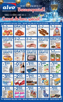 Folder Alvo du 03/01/2019 au 15/01/2019 - Coupons de réduction