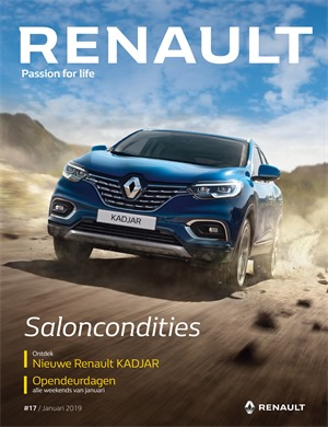 Renault folder van 01/01/2019 tot 31/01/2019 - Autosalon folder