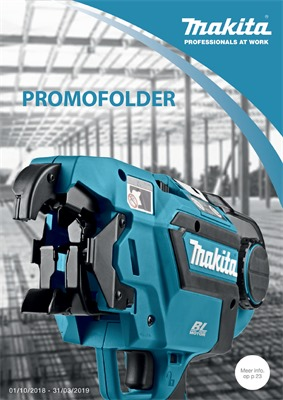 Makita folder van 01/01/2019 tot 31/12/2019 - Catalogus