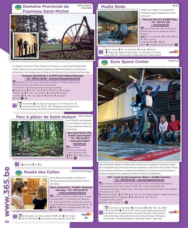 Folder 365 du 01/01/2019 au 31/12/2019 - Brochure 2019