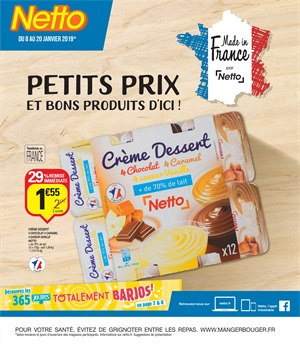 Folder Netto du 08/01/2019 au 20/01/2019 - Promotions de la semaine