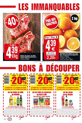 Folder Cora du 22/01/2019 au 28/01/2019 - Coupons de réduction