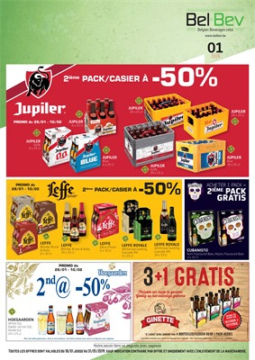 BelBev folder van 18/01/2019 tot 31/01/2019 - weekpromoties