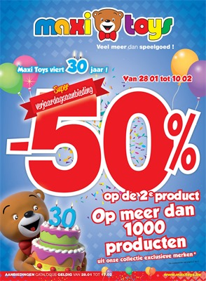 Maxi Toys folder van 28/01/2019 tot 10/02/2019 - weekpromoties