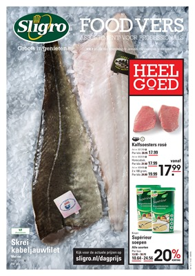 Sligro folder van 31/01/2019 tot 18/02/2019 - foodvers hg