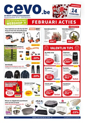 Cevo folder van 31/01/2019 tot 13/02/2019 - weekpromoties