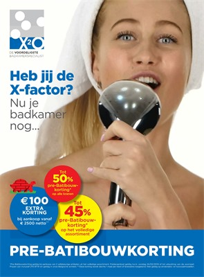 X2O folder van 01/02/2019 tot 24/02/2019 - weekpromoties