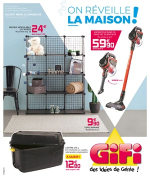 Folder Gifi du 06/02/2019 au 13/02/2019 - Promotions de la semaine