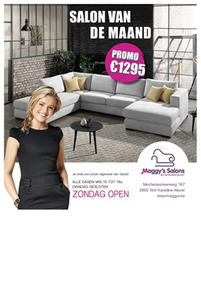 Maggy's Salons folder van 01/02/2019 tot 31/03/2019 - Maandpromoties