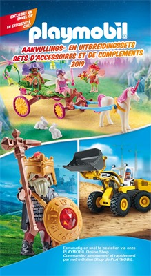 Play Mobil folder van 01/02/2019 tot 31/12/2019 - Catalogus