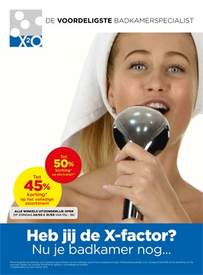X2O folder van 01/03/2019 tot 31/03/2019 - Maandpromoties