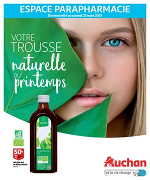 Folder Auchan du 06/03/2019 au 23/03/2019 - Pharmacie