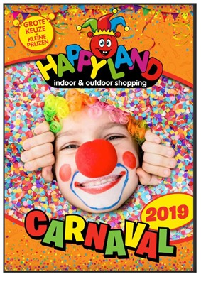 Happyland folder van 01/03/2019 tot 09/03/2019 - Carnaval