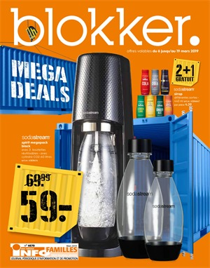 Folder Blokker du 06/03/2019 au 19/03/2019 - Promotions de la semaine