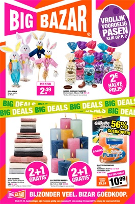 Big Bazar folder van 11/03/2019 tot 24/03/2019 - weekpromoties