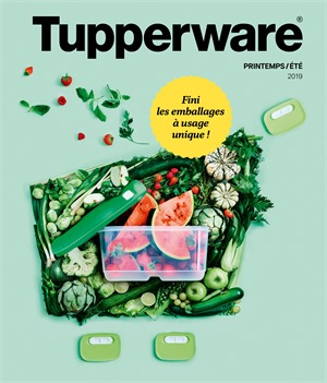 Folder Tupperware du 01/03/2019 au 30/09/2019 - Dépliant printemps été