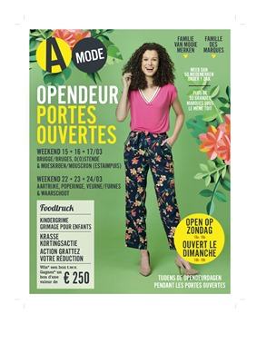 Folder A-mode du 12/03/2019 au 12/04/2019 - Promotions du mois