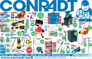 Folder Conradt du 12/03/2019 au 19/03/2019 - Promotions de la semaine