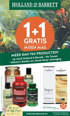 Holland & Barrett folder van 25/03/2019 tot 22/04/2019 - Maandpromoties