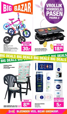 Big Bazar folder van 25/03/2019 tot 07/04/2019 - weekpromoties