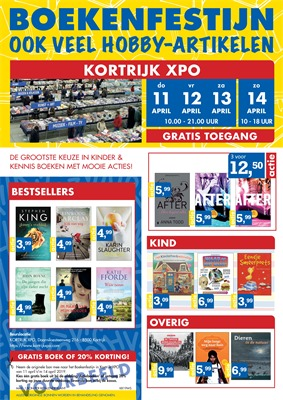 Boekenfestijn folder van 01/04/2019 tot 14/04/2019 - weekpromoties