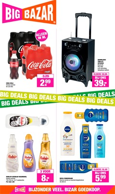 Big Bazar folder van 08/04/2019 tot 21/04/2019 - Weekpromoties