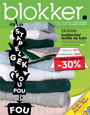 Blokker folder van 03/04/2019 tot 16/04/2019 - Weekpromoties