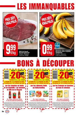 Folder Cora du 09/04/2019 au 15/04/2019 - Coupons de réduction