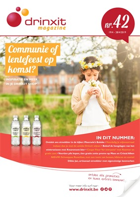 Drinxit folder van 19/04/2019 tot 28/04/2019 - weekpromoties