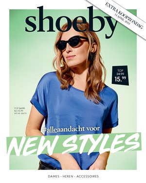 Shoeby folder van 22/04/2019 tot 05/05/2019 - Weekpromoties