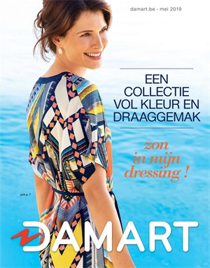 Damart folder van 01/05/2019 tot 31/05/2019 - Maandpromoties
