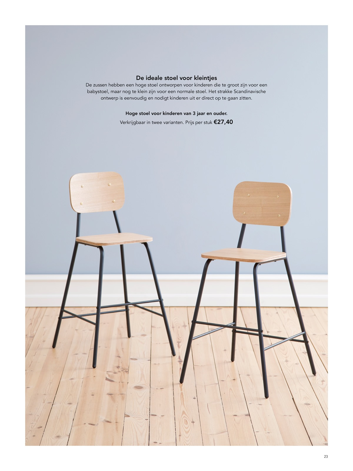 Hoge Stoel Kind.Folder Sostrene Grene Van 01 05 2019 Tot 31 05 2019 Magazine Mei