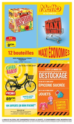 Folder Netto du 07/05/2019 au 19/05/2019 - Promotions de la semaine