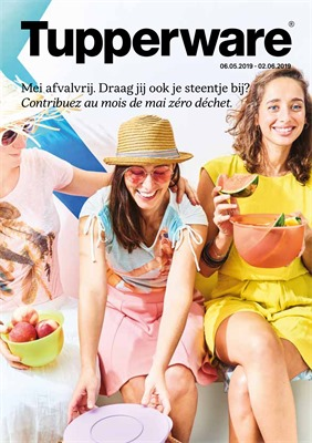 Tupperware folder van 06/05/2019 tot 02/06/2019 - Maandpromoties