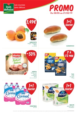 Folder Louis Delhaize du 08/05/2019 au 21/05/2019 - Promotions de la semaine