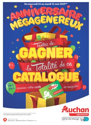 Folder Auchan du 15/05/2019 au 21/05/2019 - Promotions de la semaine