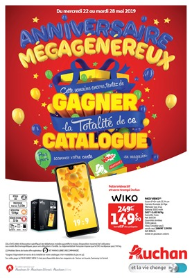 Folder Auchan du 22/05/2019 au 28/05/2019 - Promotions de la semaine