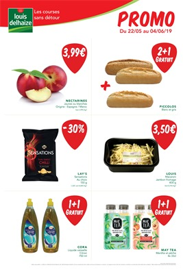 Folder Louis Delhaize du 22/05/2019 au 04/06/2019 - Promotions de la semaine