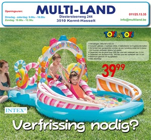 Multiland folder van 01/06/2019 tot 30/06/2019 - Maandpromoties