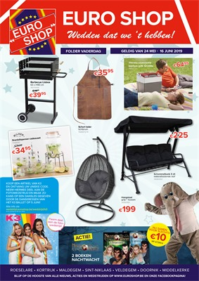 Euroshop folder van 24/05/2019 tot 16/06/2019 - Maandpromoties