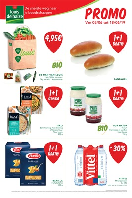 Louis Delhaize folder van 05/06/2019 tot 18/06/2019 - Weekpromoties