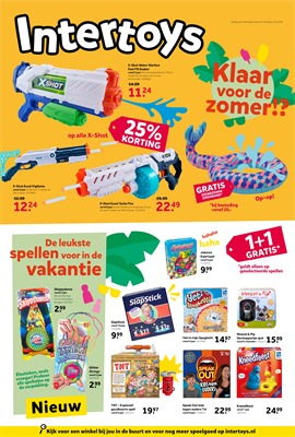 Intertoys folder van 24/06/2019 tot 07/07/2019 - Weekpromoties
