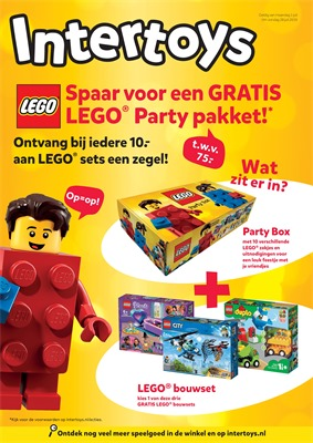 Intertoys folder van 01/07/2019 tot 28/07/2019 - Maandpromoties