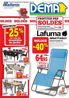 Folder Dema du 01/07/2019 au 14/07/2019 - Promotions de la semaine